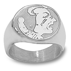 Florida State Seminoles Men's Ring - Sterling Silver