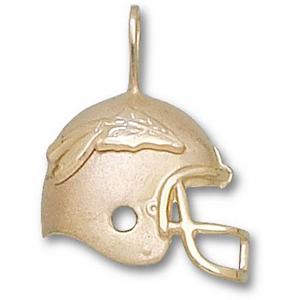 Florida State Seminoles 3/4in 10k Helmet Pendant