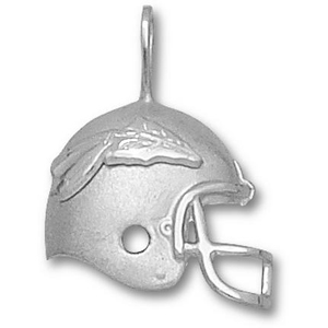 Florida State Seminoles 3/4in Sterling Silver Helmet Pendant