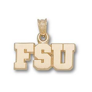 Florida State Seminoles 5/16in 10k Pendant