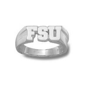 FSU Seminoles Men's Ring - Sterling Silver