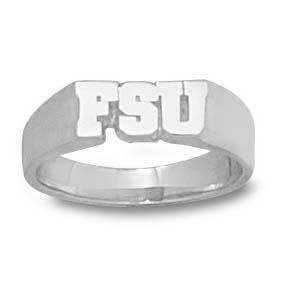 FSU Seminoles Ladies' Ring - Sterling Silver