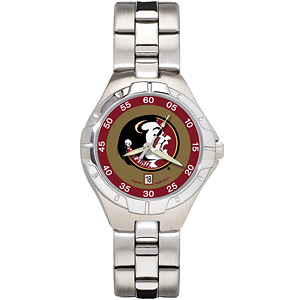 Florida State University Ladies Stainless Pro II Watch