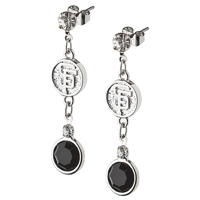 San Francisco Giants Crystal Logo Earrings