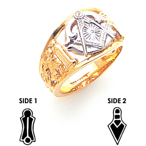 Blue Lodge Ring - 10k Gold