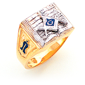 Book Blue Lodge Ring - 10k Gold