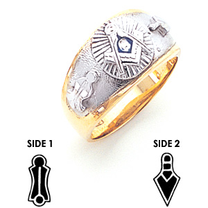 Blue Lodge Ring - 14k Gold