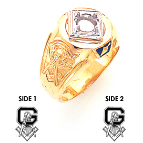 Blue Lodge Ring - 14k Gold