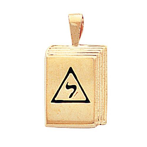 5/8in 14th Degree Masonic Pendant - 14k Gold
