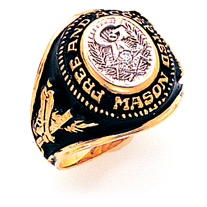 Free and Accepted Mason Ring - 14k Gold