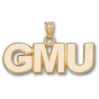 GMU 3/8in Pendant 14kt Yellow Gold