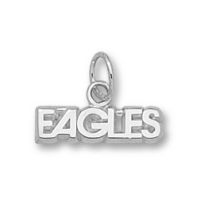 Georgia Southern Eagles 1/8in Sterling Silver Charm