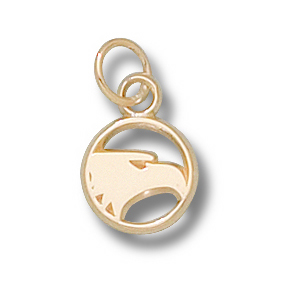 14kt Yellow Gold 3/8in Georgia Southern Eagles Charm