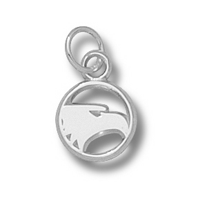 Sterling Silver 3/8in Georgia Southern Eagles Charm