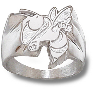 Georgia Tech Men's Seal Ring - Sterling Silver