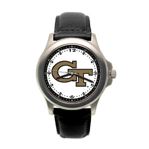 Georgia Tech Yellow Jackets Rookie Leather Watch - Clearance