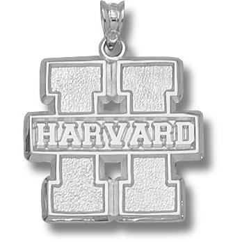 Harvard 3/4in Pendant Sterling Silver