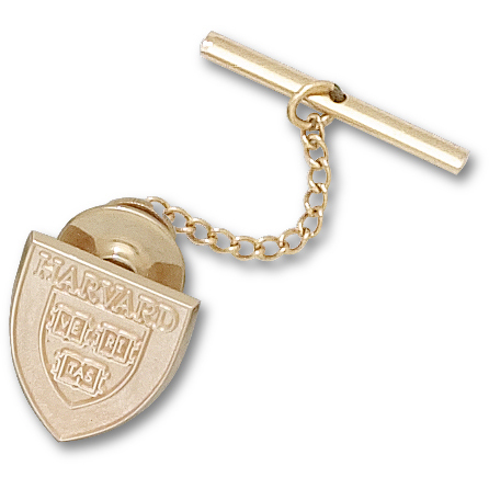 14kt Yellow Gold 5/8in Harvard University Tie Tac