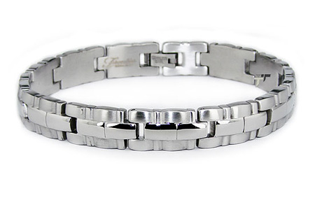Stainless Steel 8.25in Men's Link Bracelet