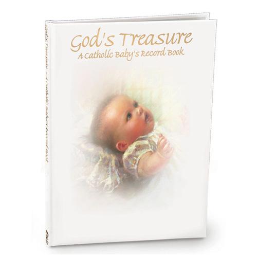 God's Treasure, A Catholic Baby's Record Book