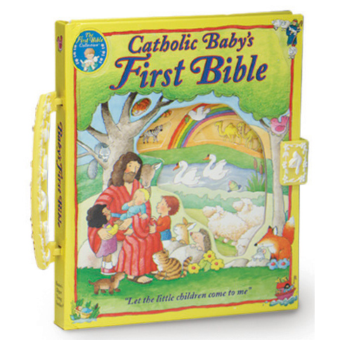 A Catholic Baby's First Bible Board Book