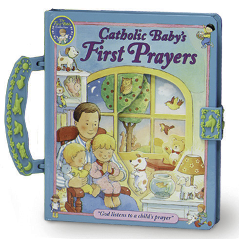 A Catholic Baby's First Prayers Board Book