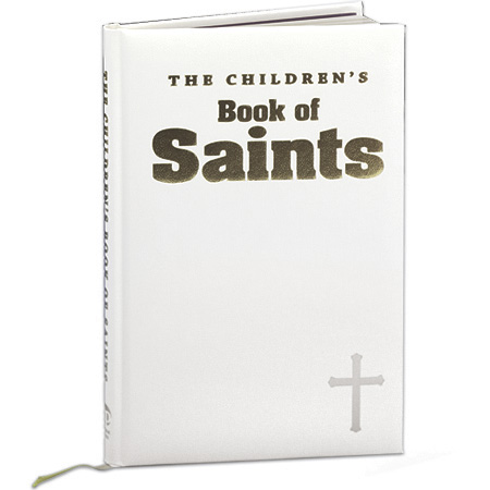 The Children's Book of Saints White Cover