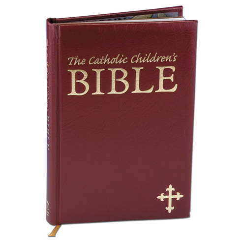 The Catholic Children's Bible Burgundy Cover