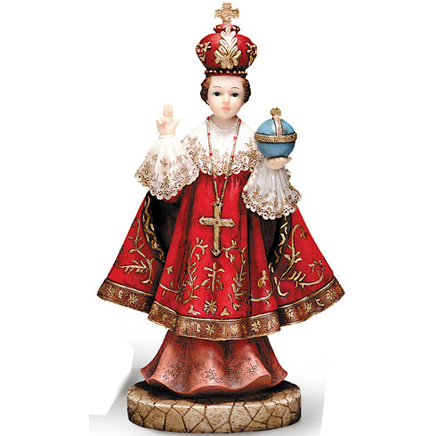 Infant of Prague 5 1/2in Florentine Collection Statue