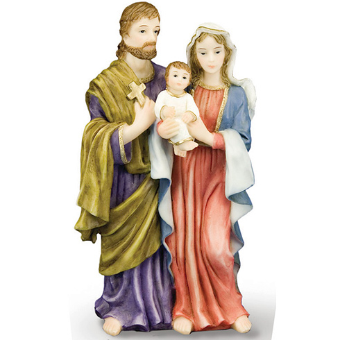 The Holy Family 5 1/2in Florentine Collection Statue