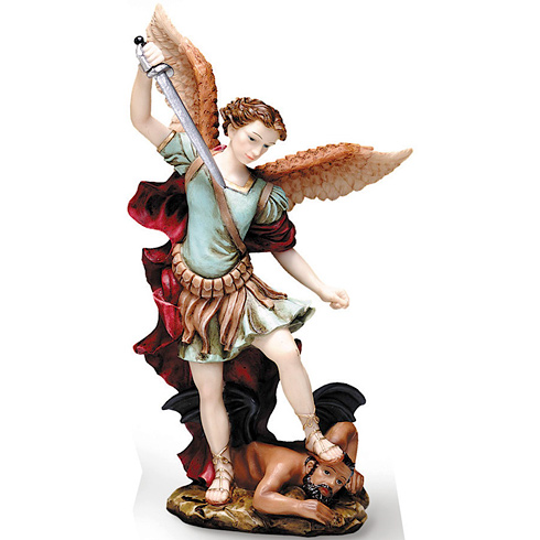 Saint Michael 5 1/2in Florentine Collection Statue