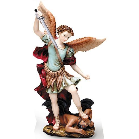 Saint Michael 5 1/2in Florentine Collection Statue