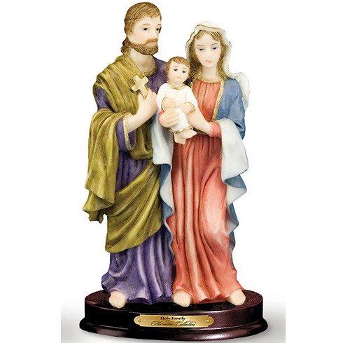 The Holy Family 8in Florentine Collection Statue