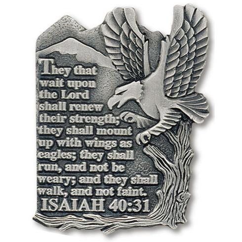 Eagle Pewter Visor Clip Set of Two