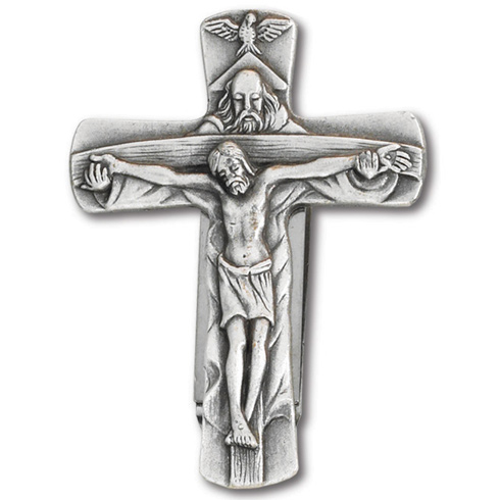 Trinity Cross Visor Clip Set of Two