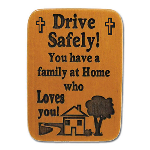 Mahogony Drive Safely Visor Clip Set of Two