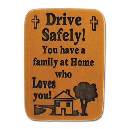Mahogony Drive Safely Visor Clip Set of Two