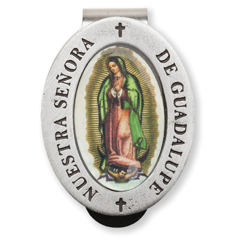Guadalupe Enamel Visor Clip Set of Two