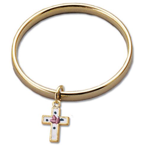 Cloisonne Christian Baby Bracelet