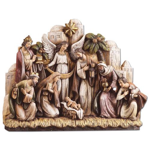 Bethlehem Nativity Scene 12in wide