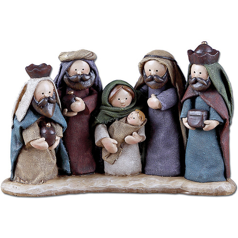 Doll Nativity Scene
