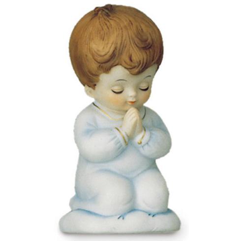 Porcelain Praying Boy Night Light