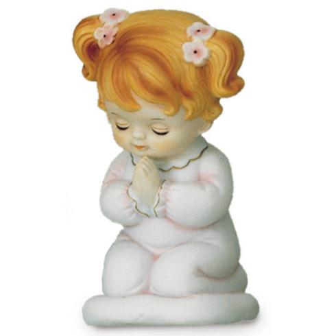 Porcelain 6in Praying Girl Night Light