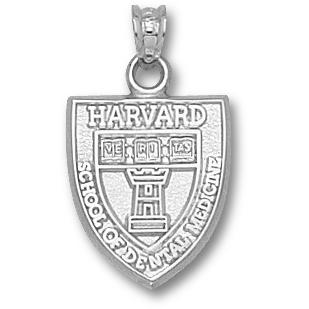 Harvard Dental Pendant Sterling Silver