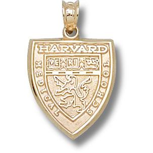 Harvard Medical 5/8in Pendant 10kt Yellow Gold