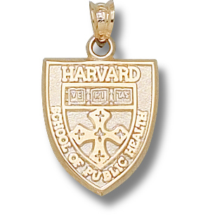 Harvard Public Health Pendant 10kt Yellow Gold