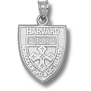 Harvard Public Health Pendant Sterling Silver