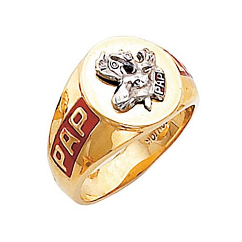 Harvey & Otis Moose Ring - 10k Gold