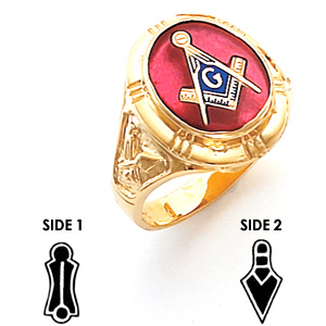 Harvey & Otis Blue Lodge Ring - 14k Gold