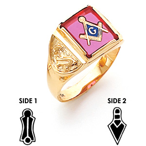 Harvey & Otis Blue Lodge Ring - 14k Gold